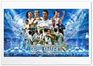 REAL MADRID CHAMPIONS LEAGUE