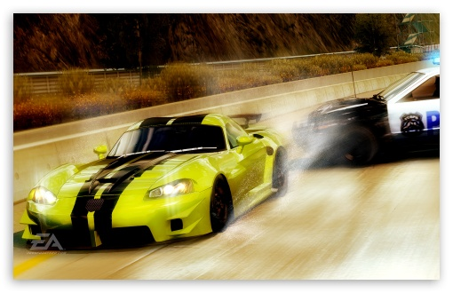 Download Need for Speed Undercover Chase UltraHD Wallpaper