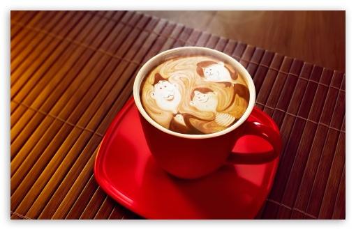 Download Coffee Cup UltraHD Wallpaper