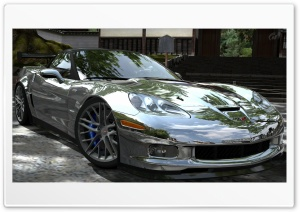Corvette ZR1 Chrome