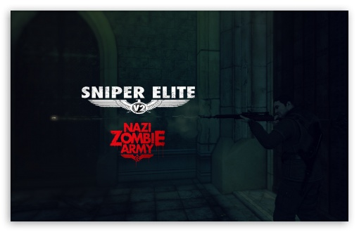 Download Sniper Elite V2 Nazi Zombie Army UltraHD Wallpaper