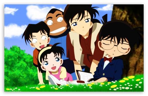 Download Detective Conan UltraHD Wallpaper