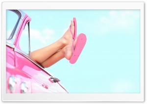 Girl Leg Pink