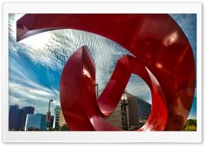 American Red Sculpture