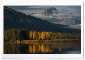 Oxbow Bend, Tetons Mountains,...