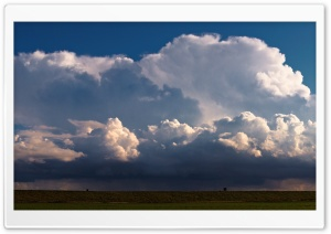 Thunder Clouds above the...
