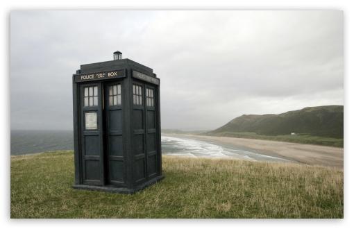 Download Tardis Doctor Who UltraHD Wallpaper