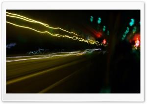 City Lights Long Exposure