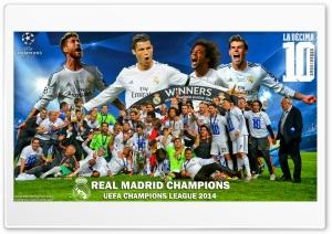 Real Madrid Winners Champions...
