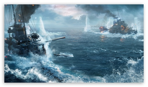 Download World Of Warship Ships UltraHD Wallpaper