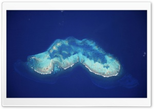 Atoll in the Caribbean Sea