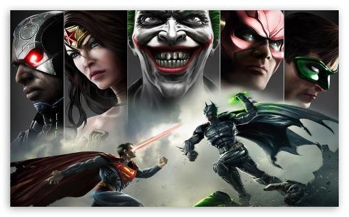 Download Injustice Superman vs Batman UltraHD Wallpaper