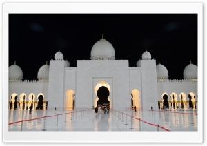 Abu Dhabi Mosque Night...
