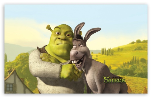 Download Shrek And Donkey, Shrek The Final Chapter UltraHD Wallpaper