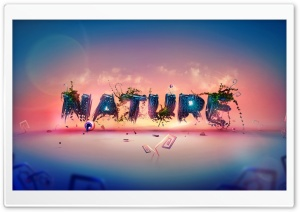 Typography of  Nature