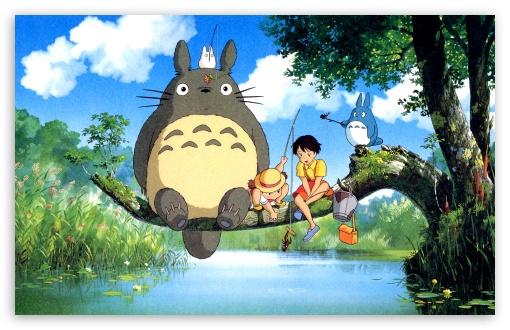 Download Ghibli My Neighbor UltraHD Wallpaper