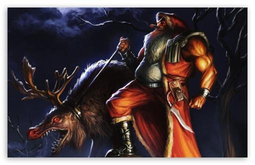 Download Bad Santa UltraHD Wallpaper