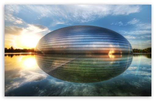 Download The Egg In Beijing UltraHD Wallpaper