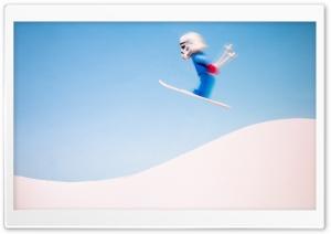 Stormtrooper Skiing