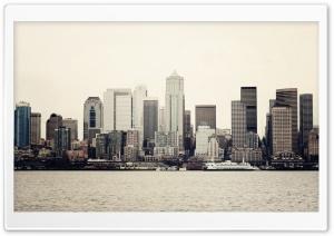 Seattle, As Seen From Elliot Bay