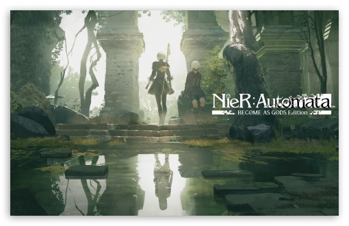 Download Nier Automata Become As Gods Edition UltraHD Wallpaper