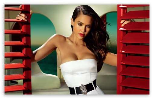 Download Jessica Alba Beautiful UltraHD Wallpaper