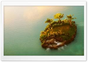 Tilt-shift Island