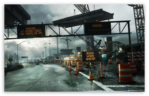 Download Need For Speed Undercover Road UltraHD Wallpaper