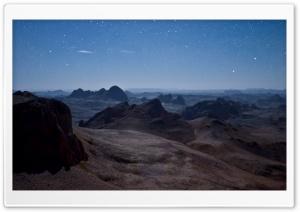 Panorama Of The Ahaggar...