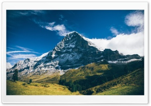 Eiger Mountain, Grindelwald,...