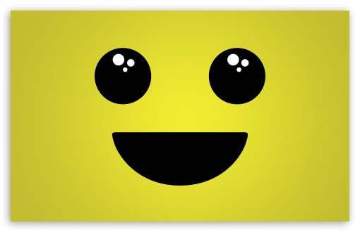Download Smiley Face Background UltraHD Wallpaper