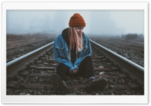 Alone Girl, Silent, Railroad