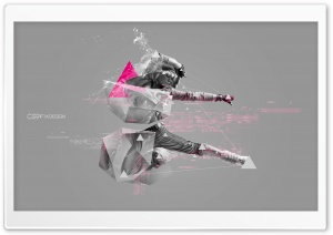 3D Abstract Polygon Wallpaper...