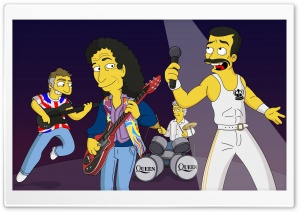 Queen Band Cartoon