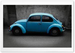 Old Blue Volkswagen