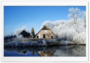 Farmhouse Along The Kromme...