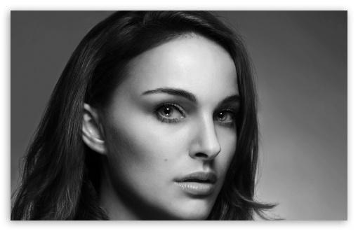Download Natalie Portman Hollywood Actress UltraHD Wallpaper