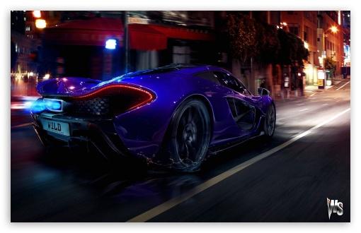 Download 2014 McLaren P1 UltraHD Wallpaper
