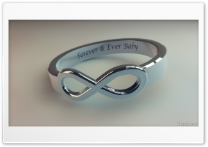 Ring, Forever and ever baby