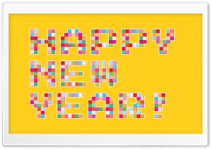 Happy Colorful New Year