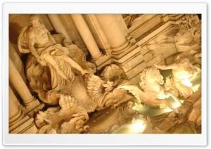 Trevi Fountain Sculpture