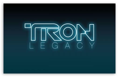 Download Tron Legacy Logo UltraHD Wallpaper