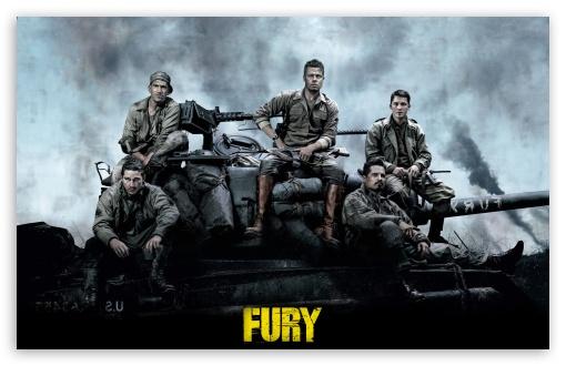 Download Fury UltraHD Wallpaper