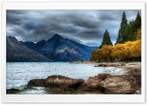 Mountain Lake, Autumn HDR