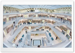 Stuttgart City Library Germany