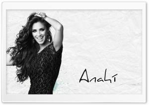 Anahi Black and White