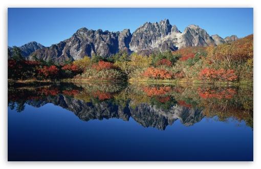 Download Jagged Mountain Peaks UltraHD Wallpaper