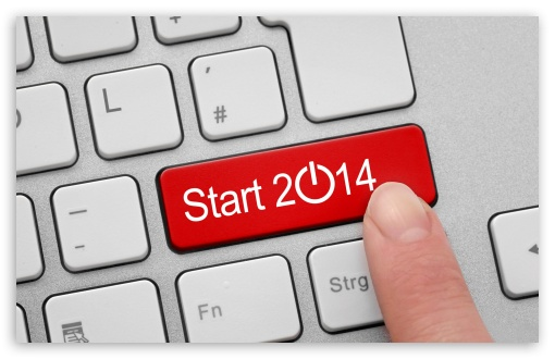 Download Welcome to 2014 UltraHD Wallpaper