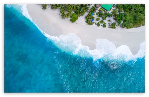 Download Maldives Islands Vacation UltraHD Wallpaper