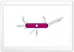 Open Swiss Army Knife
